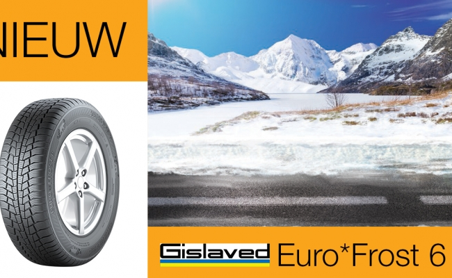 Nieuw in ons gamma: Gislaved Euro*Frost 6